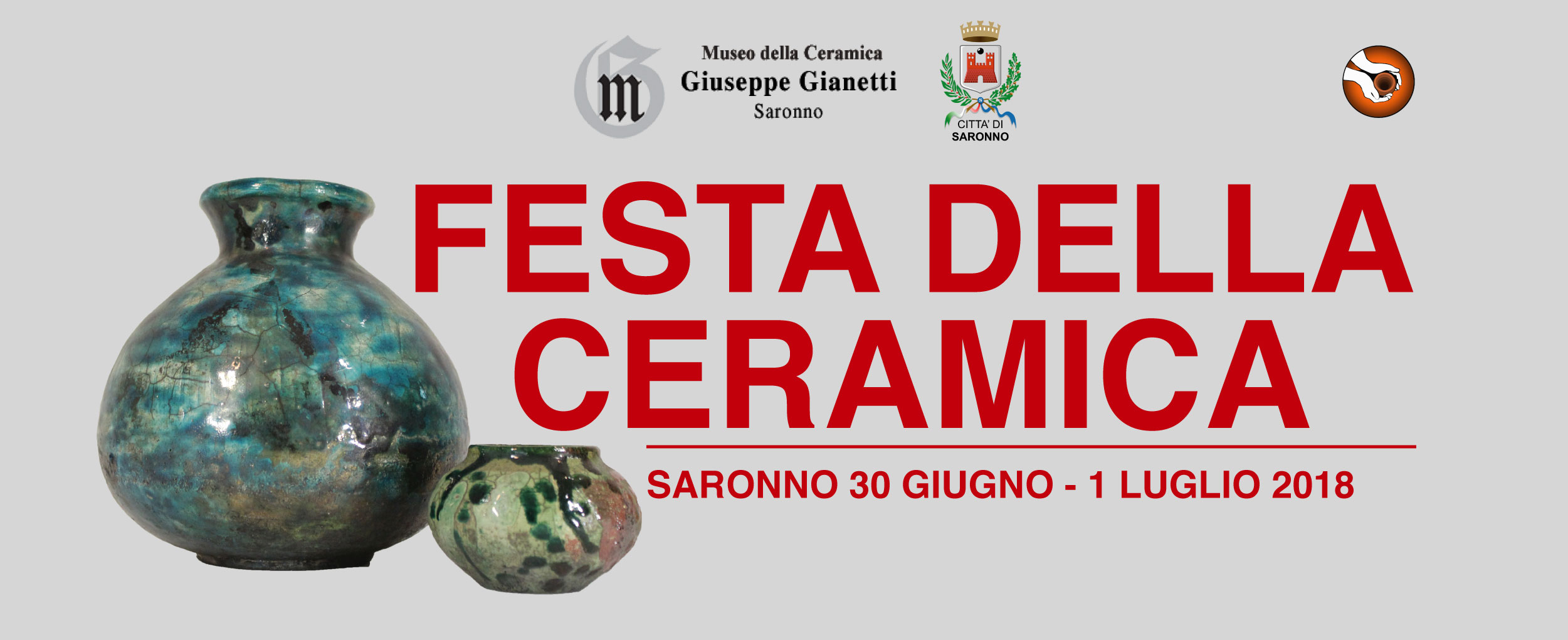 Festa della ceramica a Saronno 2018