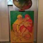 Con una rosa... - Dettaglio esposizione dedicata a Maria Rosa Tagliabue
