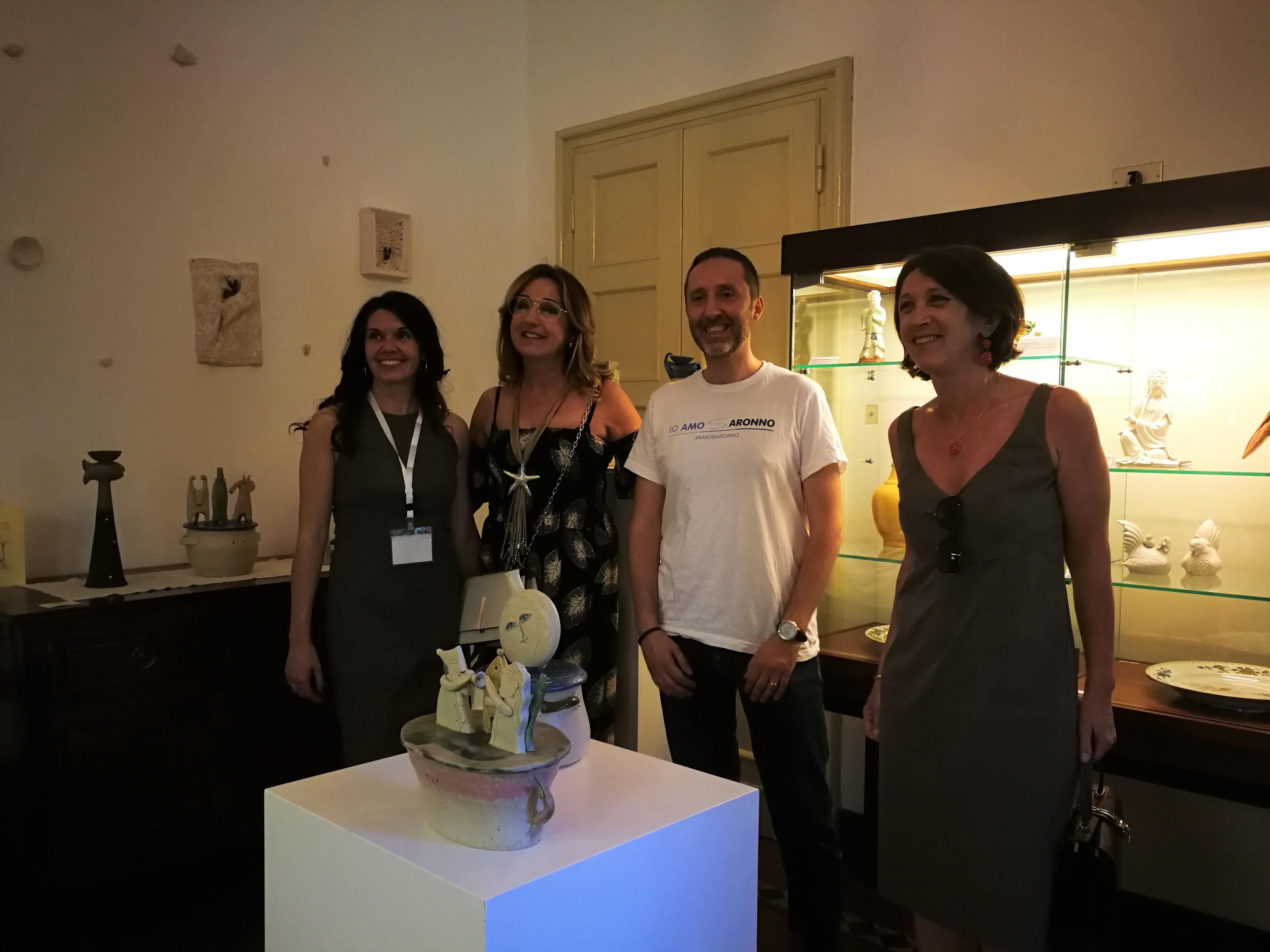 Conferenza stampa sabato 31 giugno - Mara De Fanti, Maria Assunta Miglino, Fabio Bigatti e Daniela Nasi
