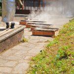 Raku al Museo Gianetti - La cottura Raku nel Giardino del Museo Gianetti