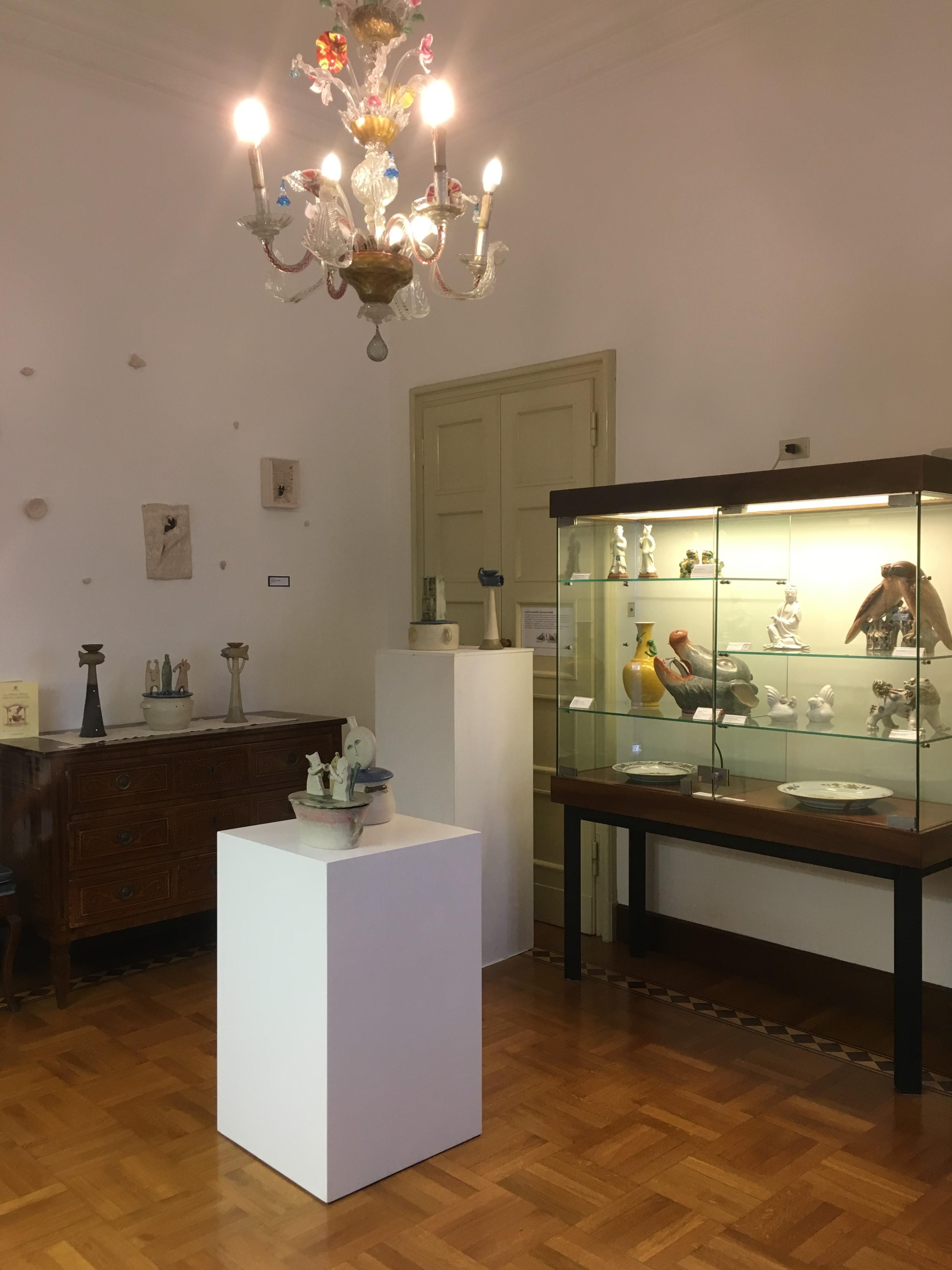 Ceramiche di Riccardo Biavati, Sala I, Museo della Ceramica G. Gianetti