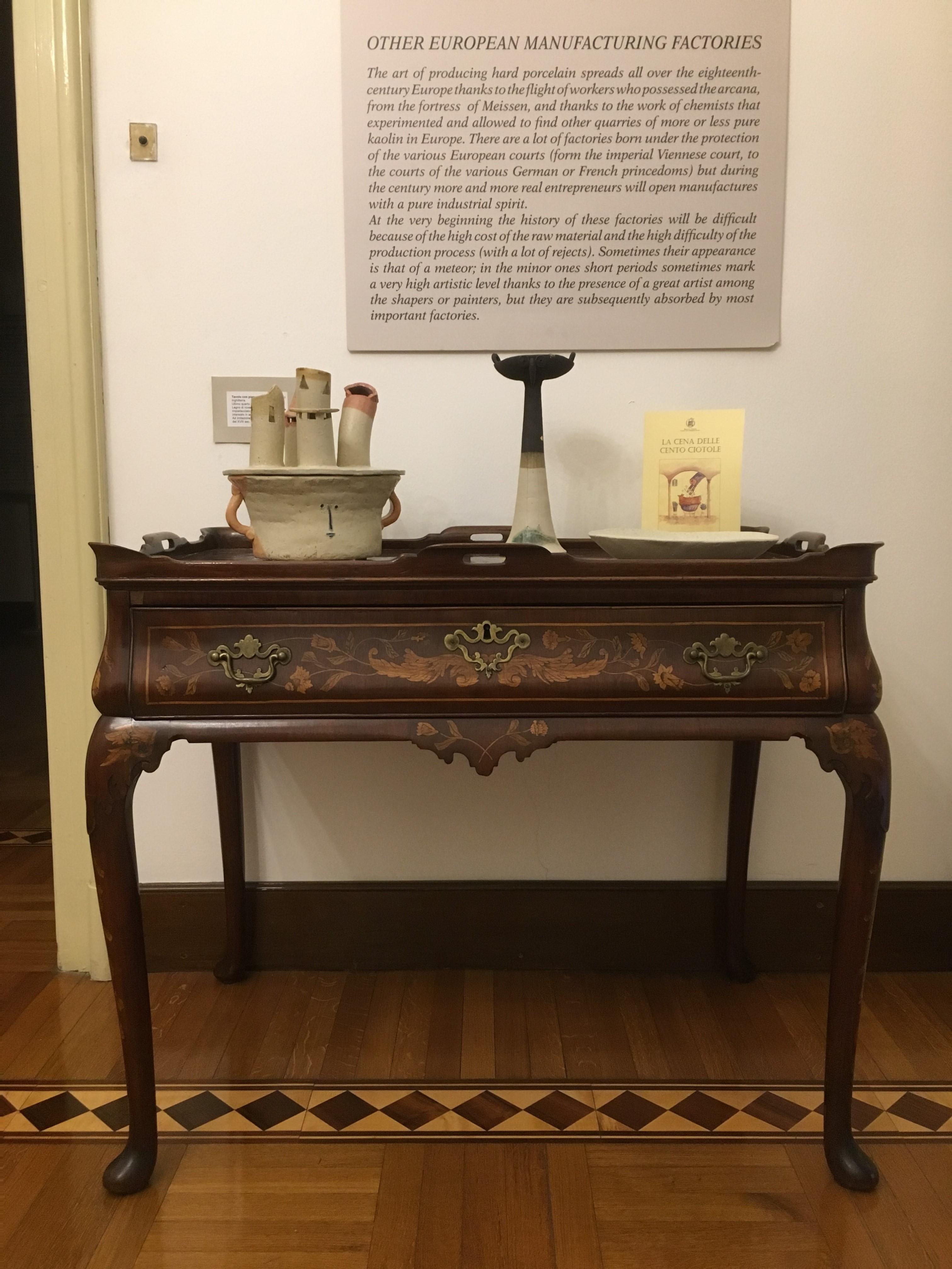 Ceramiche di Riccardo Biavati, Sala III, Museo della Ceramica G. Gianetti